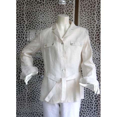 Saharienne CAROLL Blanc, blanc cassé, écru