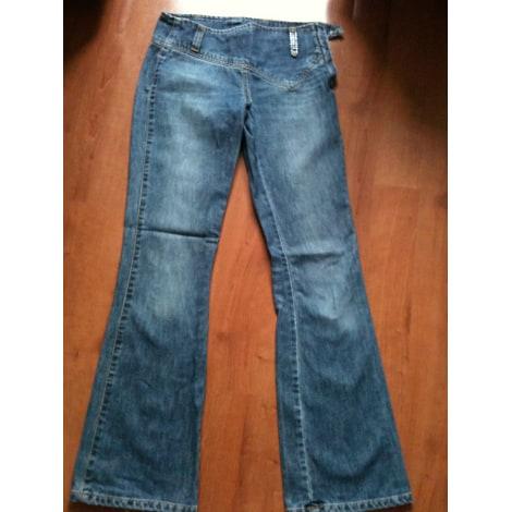 Jeans évasé, boot-cut H&M Bleu, bleu marine, bleu turquoise