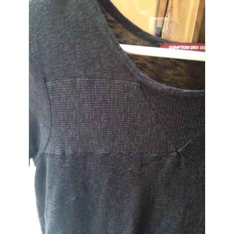Top, tee-shirt COMPTOIR DES COTONNIERS Gris, anthracite