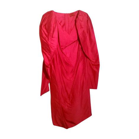 Robe mi-longue LANVIN Rose, fuschia, vieux rose