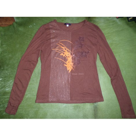 Top, tee-shirt KENZO Marron