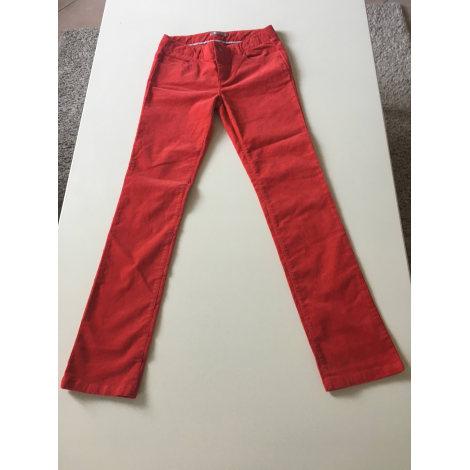 Pantalon CFK Rouge, bordeaux