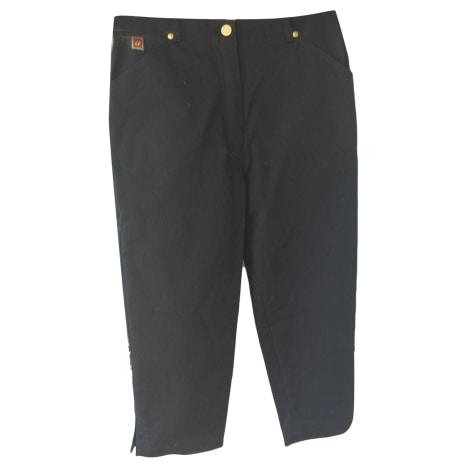 Pantalon droit KRISTINA POPOVITCH Noir