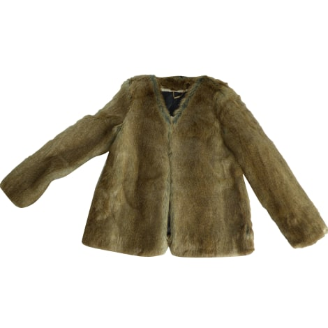 Manteau en fourrure ONE STEP Marron
