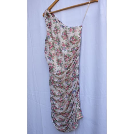 Robe courte BERSHKA Multicouleur