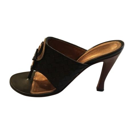 Sandales à talons BOTTEGA VENETA Noir