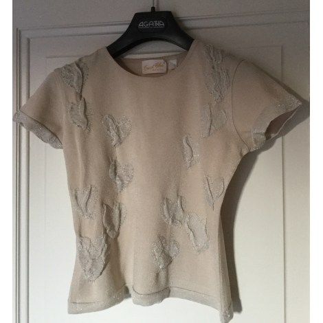Pull TRICOT CHIC Beige, camel