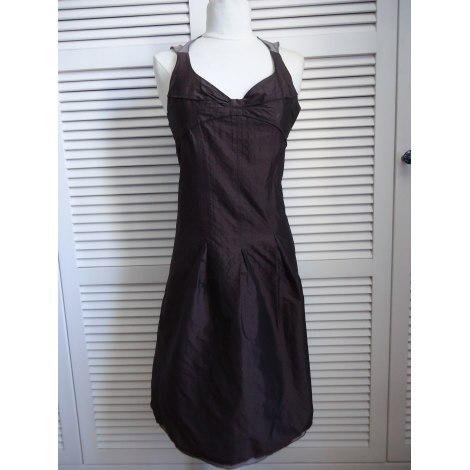 Robe mi-longue CHATTAWAK Marron