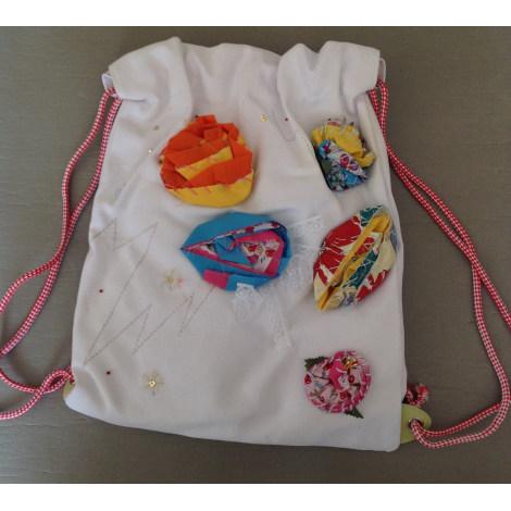 Backpack RAS White, off-white, ecru