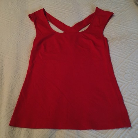 Top, tee-shirt BANANA REPUBLIC Rouge, bordeaux