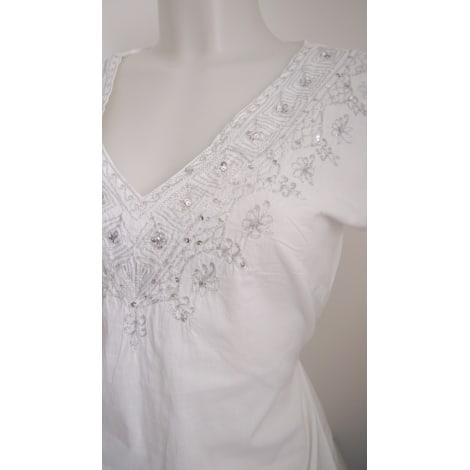 Robe tunique BLANCHEPORTE Blanc, blanc cassé, écru
