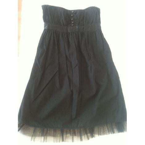 Robe tunique BERSHKA Noir