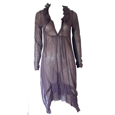 Robe tunique COP-COPINE Violet, mauve, lavande