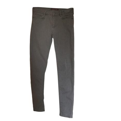 Jeans droit COMPTOIR DES COTONNIERS Gris, anthracite