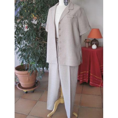 Tailleur pantalon DAXON Beige, camel