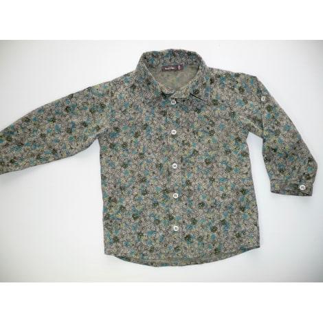 Blouse, Short-sleeved Shirt BOUT'CHOU Green