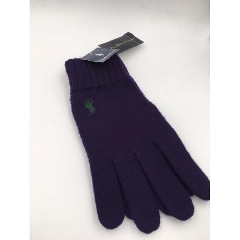 Handschuhe RALPH LAUREN Violett, malvenfarben, lavendelfarben