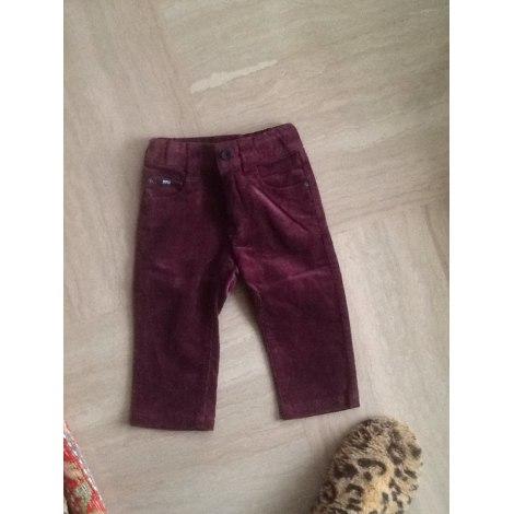 Pantalon HUGO BOSS Rouge, bordeaux