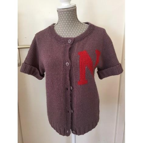 Gilet, cardigan NAF NAF Violet, mauve, lavande