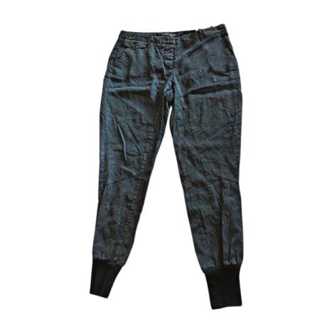 Pantalon carotte TRUSSARDI Noir