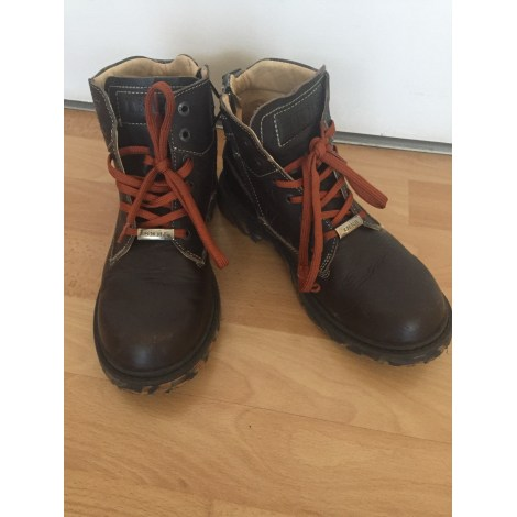 Ankle Boots IKKS Brown