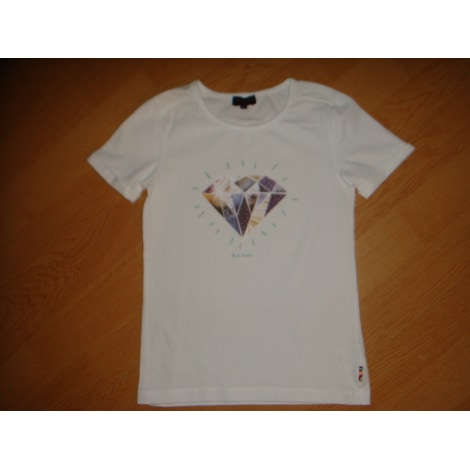 Top, Tee-shirt PAUL SMITH Blanc, blanc cassé, écru