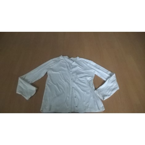 Gilet, cardigan MONOPRIX Blanc, blanc cassé, écru