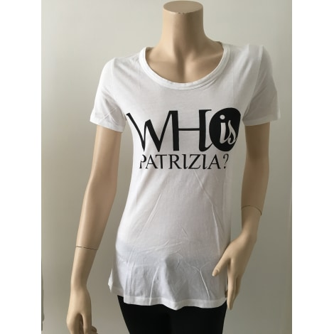 Top, tee-shirt PATRIZIA PEPE Blanc, blanc cassé, écru