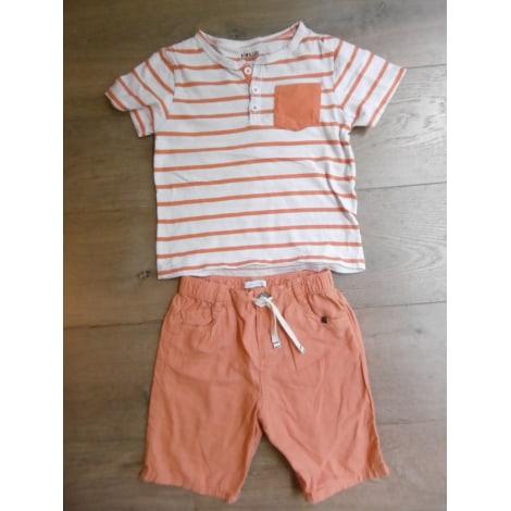Shorts Set, Outfit OBAIBI/KIM & LOU Orange