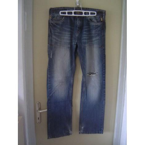 Jeans droit LIBERTO Bleu, bleu marine, bleu turquoise