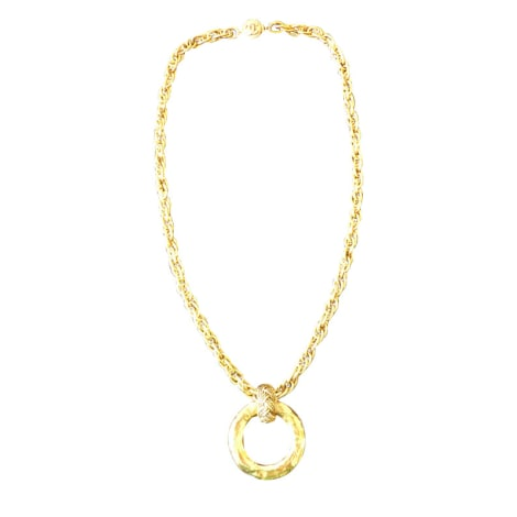 Halsketten CHANEL Gold, Bronze, Kupfer