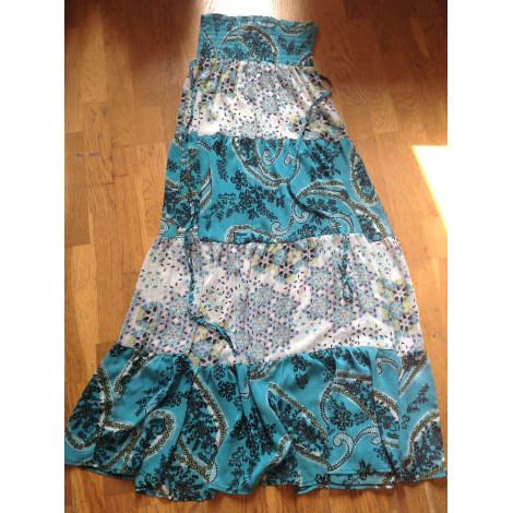 Robe bustier ZARA Bleu, bleu marine, bleu turquoise