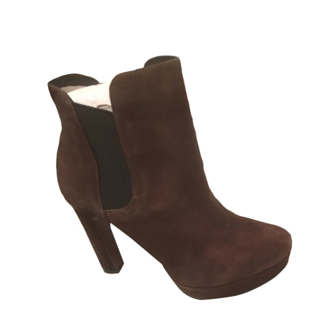 Bottines & low boots à talons LOLA CRUZ Marron