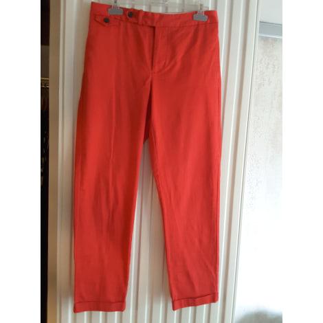 Pantalon slim, cigarette RALPH LAUREN Orange