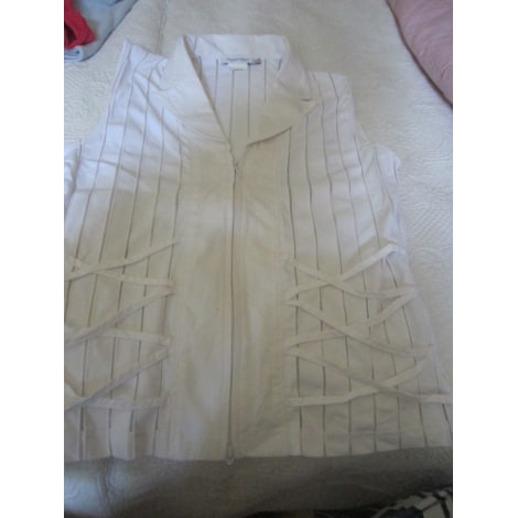 Top, tee-shirt ANTONELLE Blanc, blanc cassé, écru