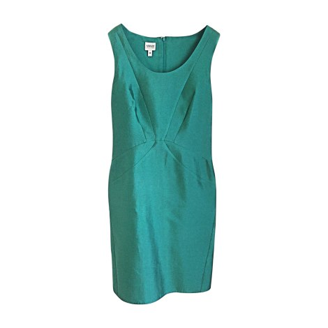 Robe mi-longue ARMANI Vert