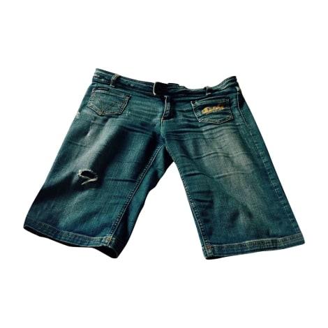 Short en jean DOLCE & GABBANA Bleu, bleu marine, bleu turquoise
