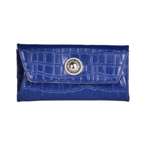 Portefeuille VERSACE Bleu, bleu marine, bleu turquoise