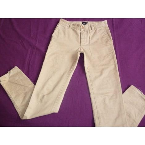 Pantalon slim ASOS Beige, camel