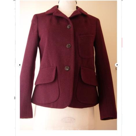 Blazer, veste tailleur UNIQLO Rouge, bordeaux