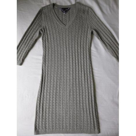 Robe pull TOMMY HILFIGER Gris, anthracite