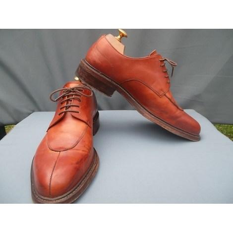 Lace Up Shoes BEXLEY Orange