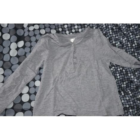 Top, Tee-shirt OKAÏDI Gris, anthracite