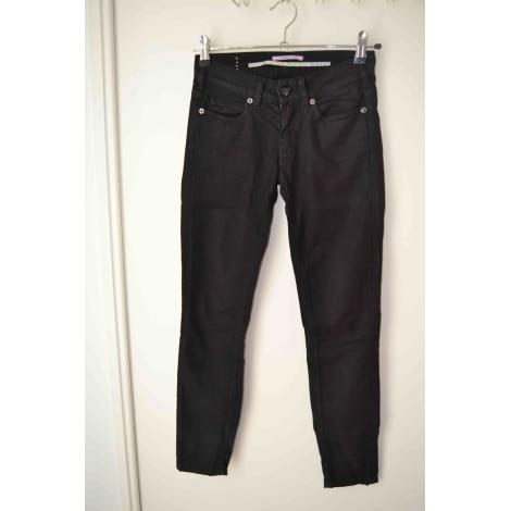 Pantalon slim, cigarette VANESSA BRUNO Noir