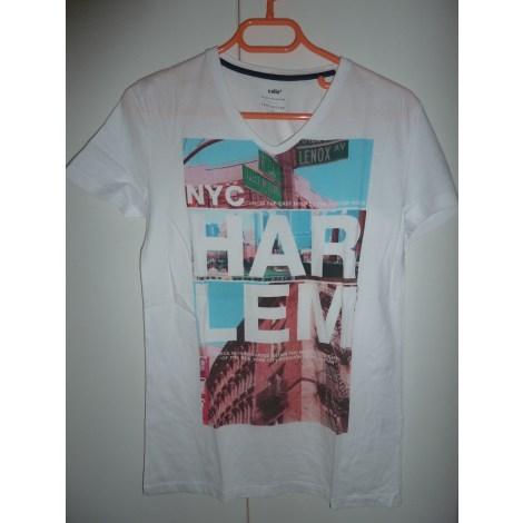 T-shirt CELIO White, off-white, ecru