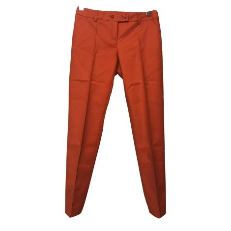 Pantalon droit KOOKAI Orange