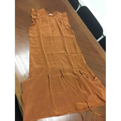 Robe courte VANESSA BRUNO POUR LA REDOUTE Beige, camel