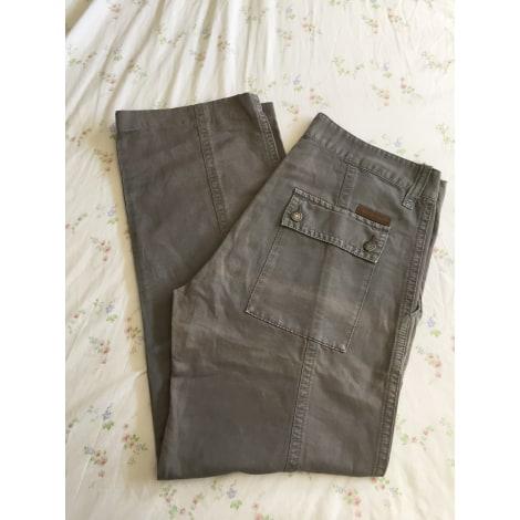 Pantalon droit CALVIN KLEIN Vert