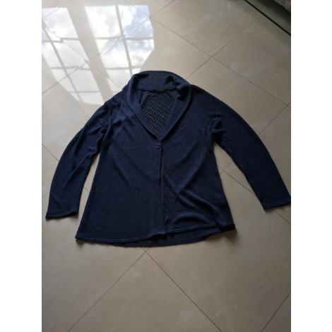 Gilet, cardigan BIANCA Bleu, bleu marine, bleu turquoise