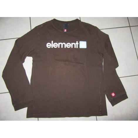 Tee-shirt ELEMENT Marron